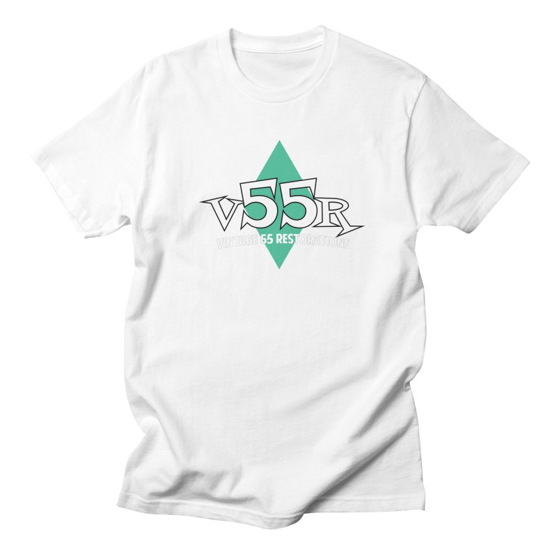 Vintage 55 Restorations Diamond Logo Men's T-Shirt by Vintage 55 Restorations