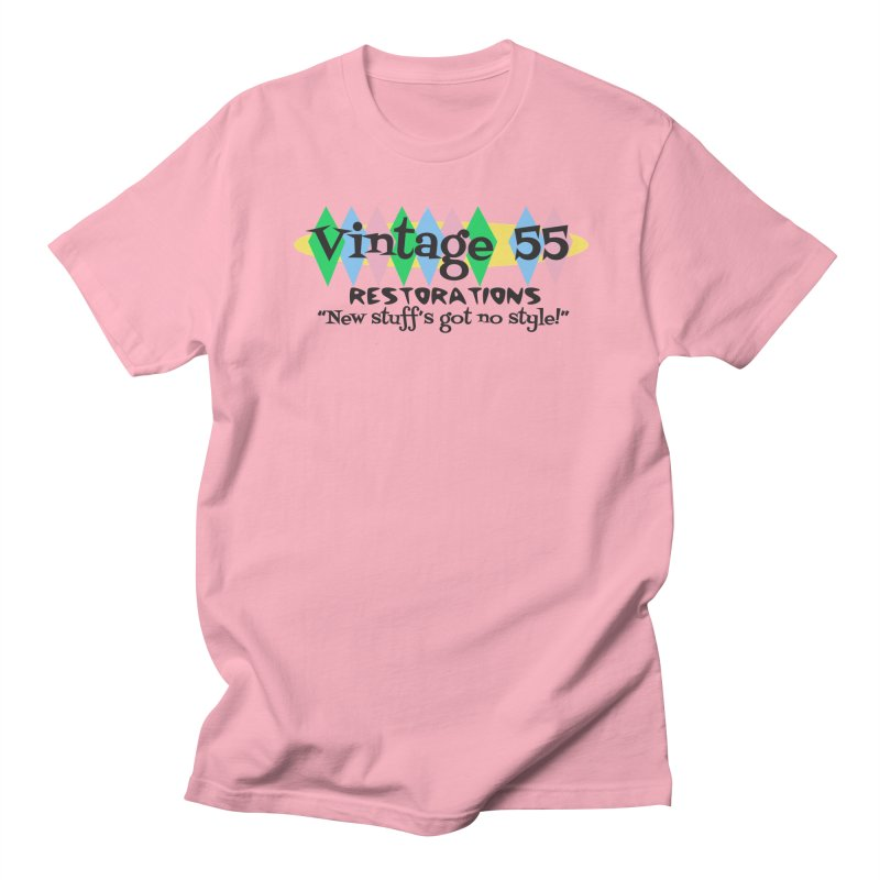 Original Logo Men's T-Shirt by Vintage 55 Restorations