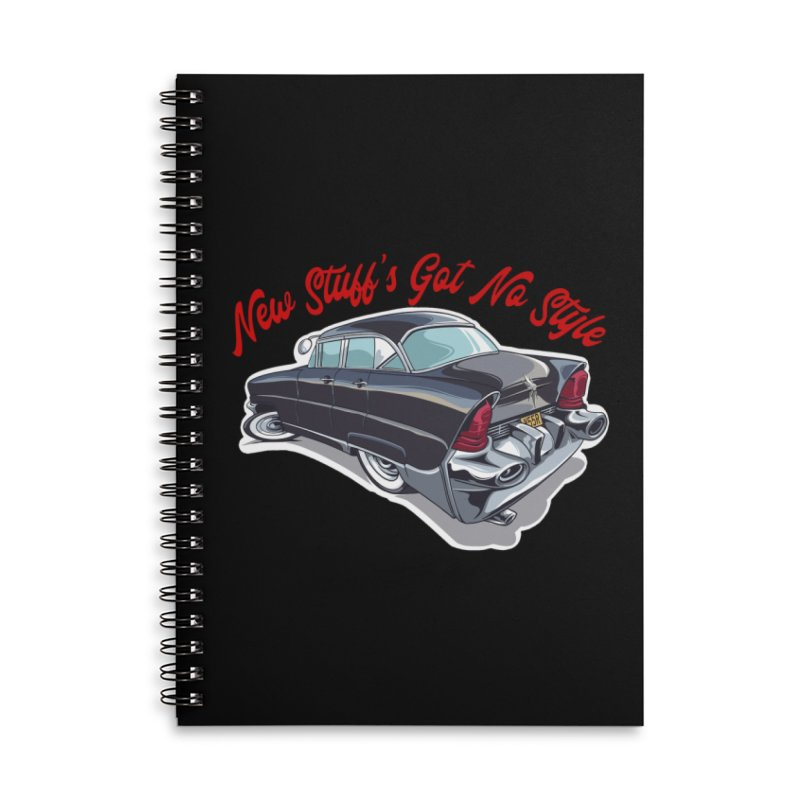Land Yacht Lincoln Accessories Notebook by Vintage 55 Restorations