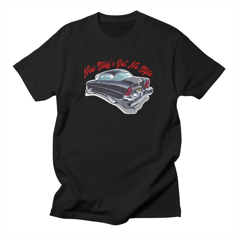 Land Yacht Lincoln Men's T-Shirt by Vintage 55 Restorations