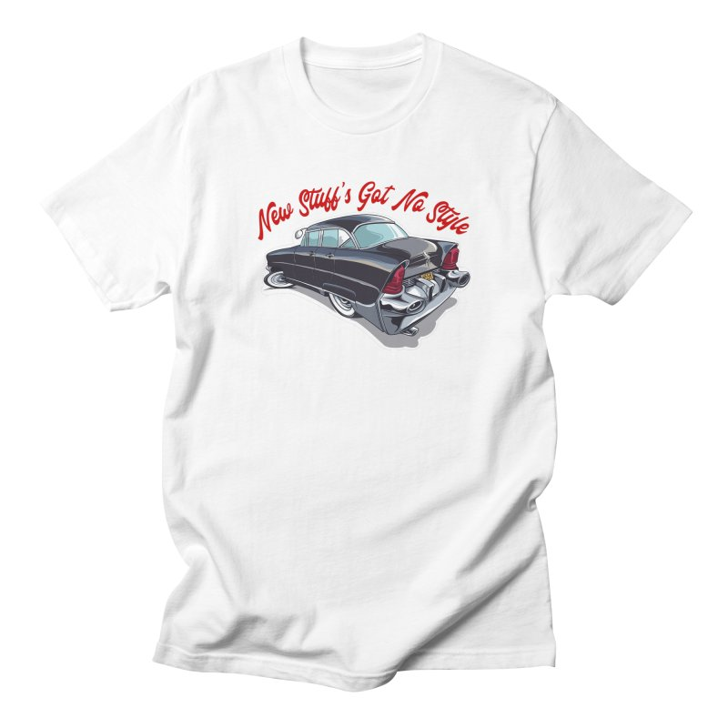 Land Yacht Lincoln Men's Regular T-Shirt by Vintage 55 Restorations