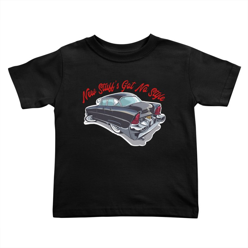 Land Yacht Lincoln Kids Toddler T-Shirt by Vintage 55 Restorations