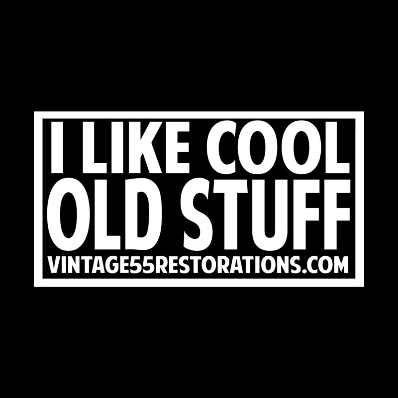 I Like Cool Old Stuff Accessories Zip Pouch by Vintage 55 Restorations