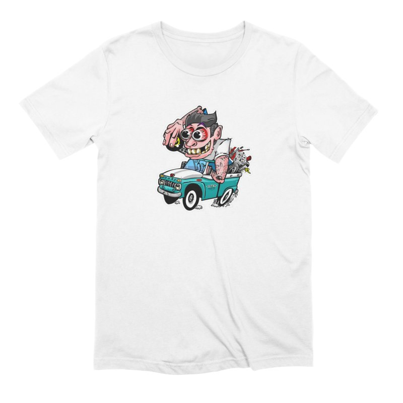Truck Weirdo Men's T-Shirt by Vintage 55 Restorations