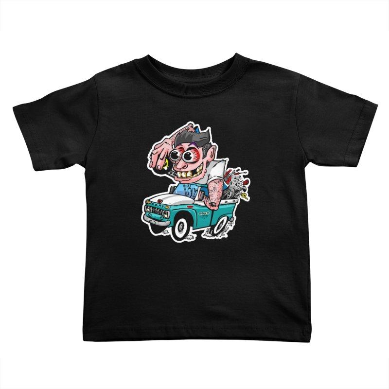Truck Weirdo Kids Toddler T-Shirt by Vintage 55 Restorations