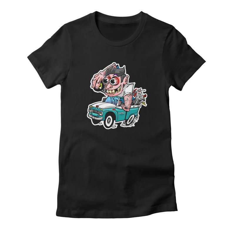 Truck Weirdo Women's T-Shirt by Vintage 55 Restorations