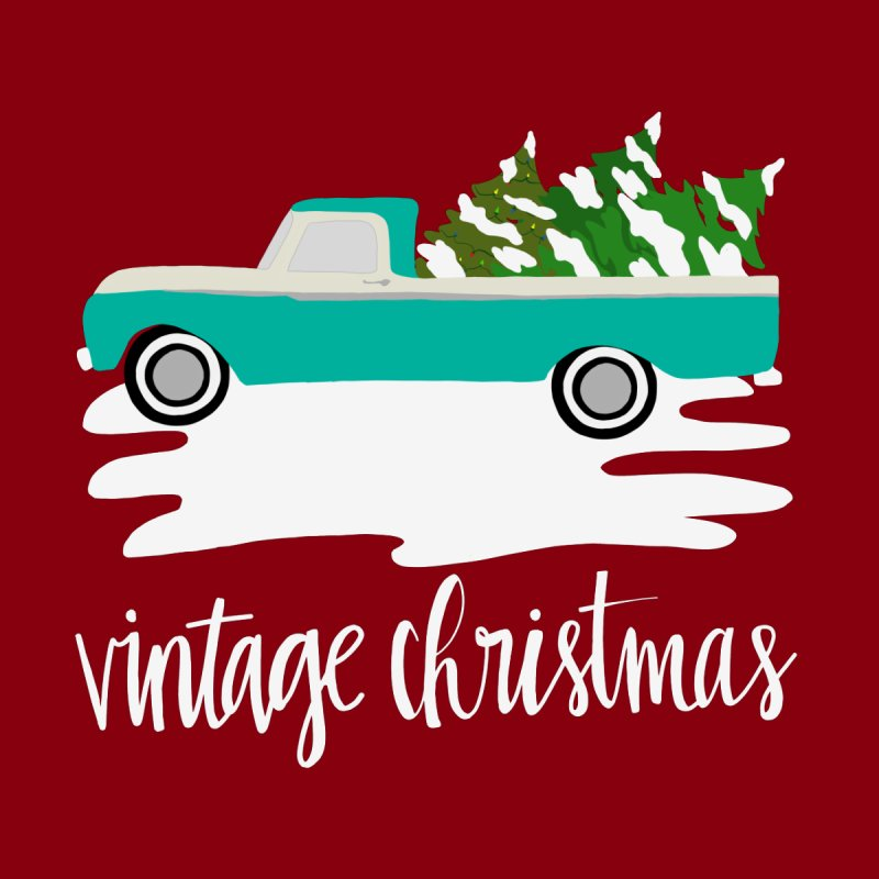 Vintage Christmas Women's T-Shirt by Vintage 55 Restorations