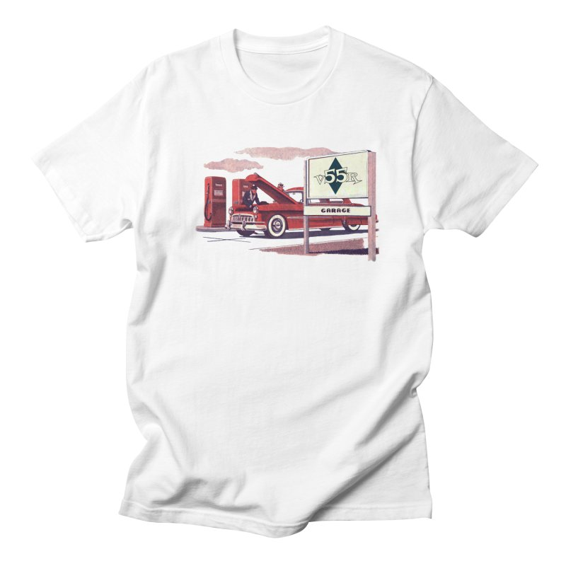 Vintage 55 Garage service Women's Regular Unisex T-Shirt by Vintage 55 Restorations