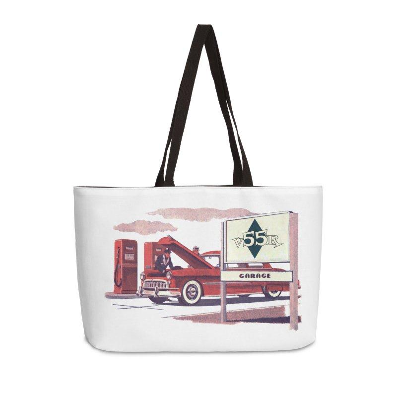 Vintage 55 Garage service Accessories Bag by Vintage 55 Restorations