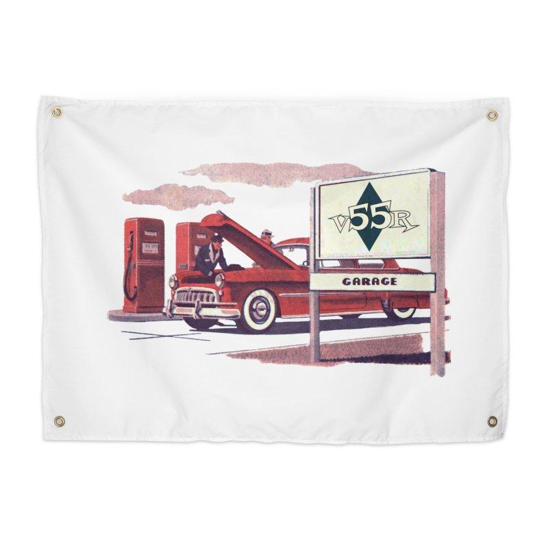 Vintage 55 Garage service Home Tapestry by Vintage 55 Restorations