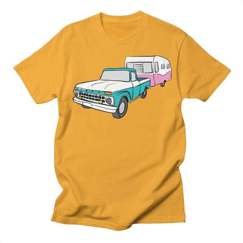 Travel trailer Women's Regular Unisex T-Shirt by Vintage 55 Restorations