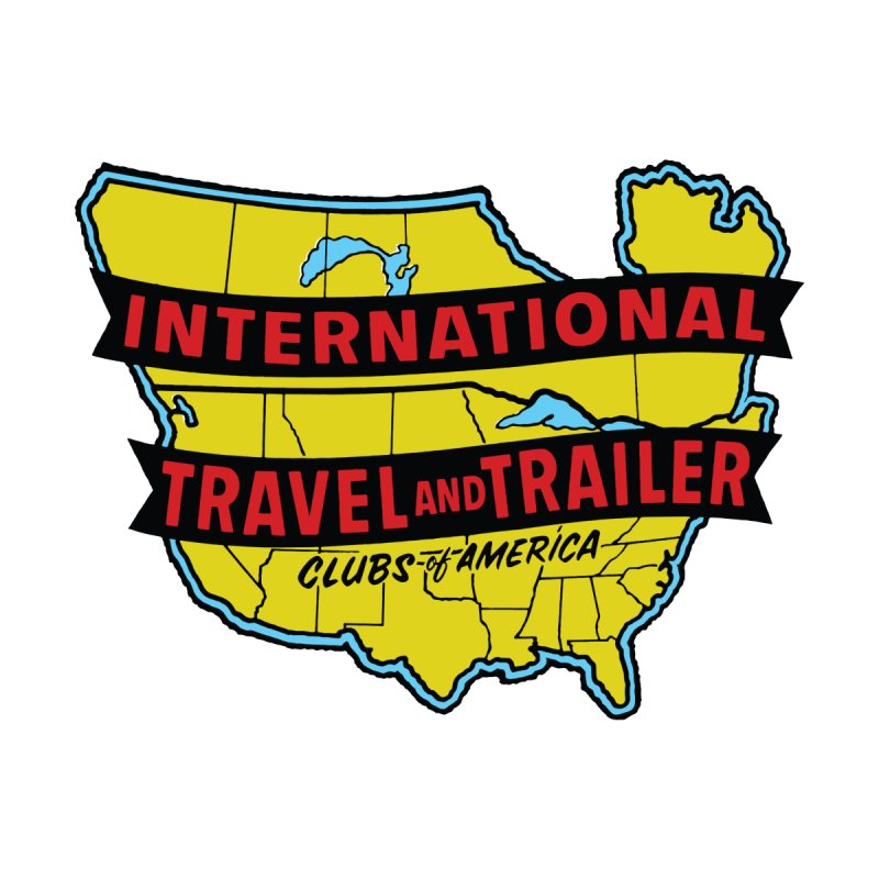 Vintage travel trailer club Accessories Sticker by Vintage 55 Restorations