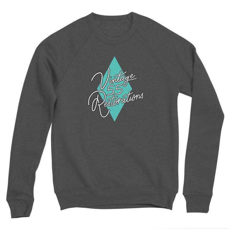 Single diamond logo Men's Sweatshirt by Vintage 55 Restorations