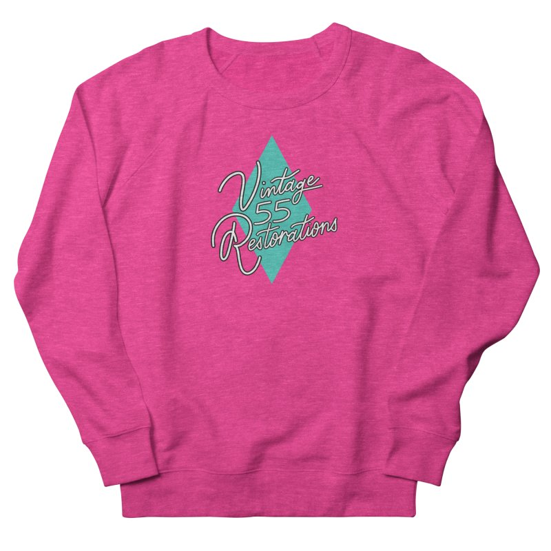 Single diamond logo Women's Sweatshirt by Vintage 55 Restorations