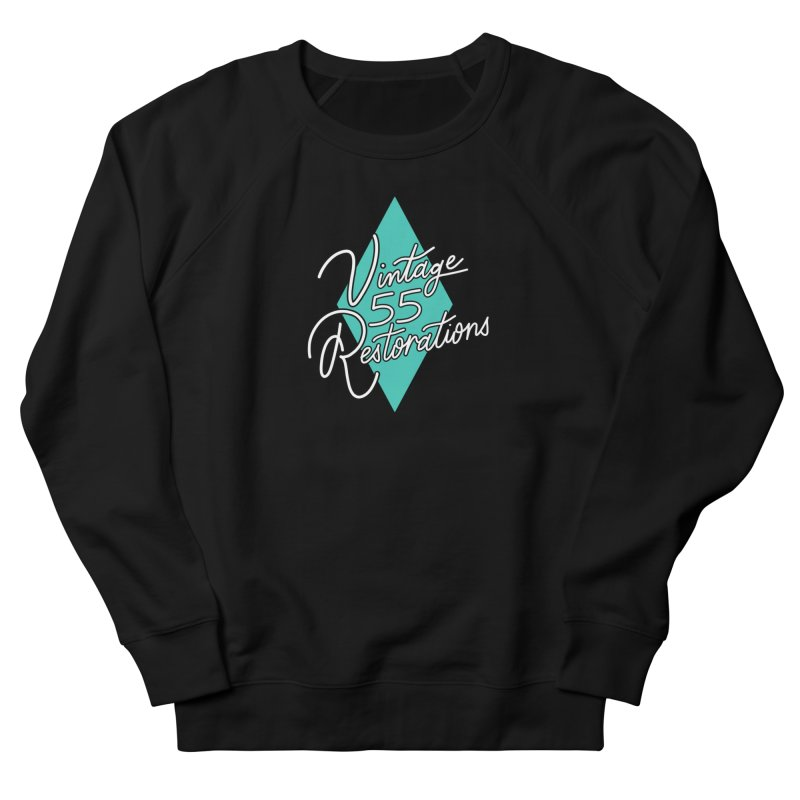 Single diamond logo Women's Sweatshirt by Vintage 55 Restorations