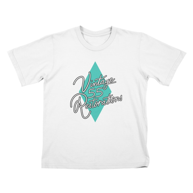 Single diamond logo Kids T-Shirt by Vintage 55 Restorations