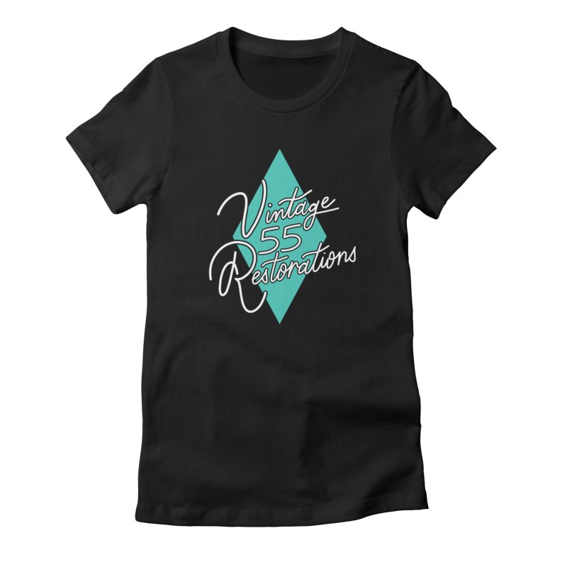 Single diamond logo Women's T-Shirt by Vintage 55 Restorations