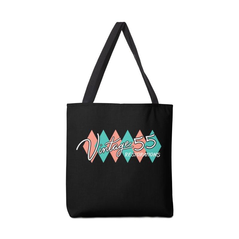 Diamond Logo on Black Accessories Bag by Vintage 55 Restorations
