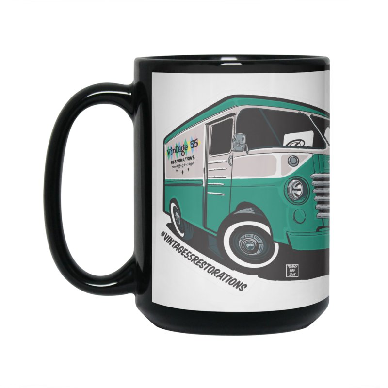 Grumman Olson shop van Accessories Mug by Vintage 55 Restorations