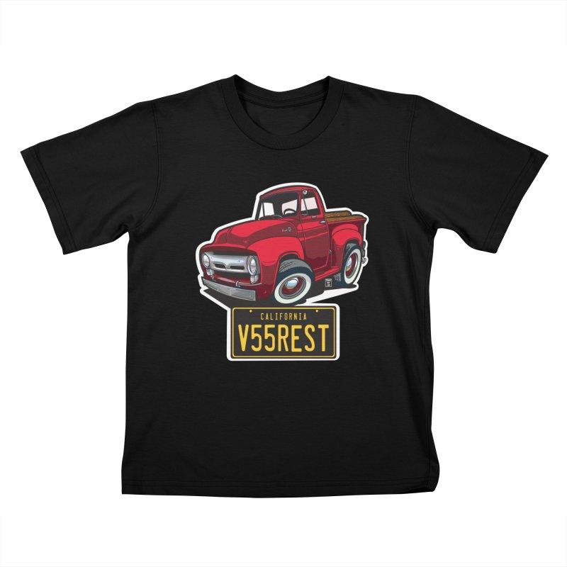 F-100 Kids T-Shirt by Vintage 55 Restorations