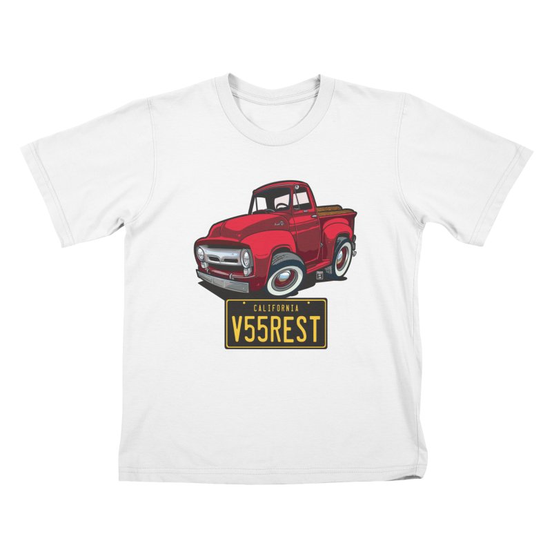 F-100 Kids T-Shirt by Vintage 55 Restorations