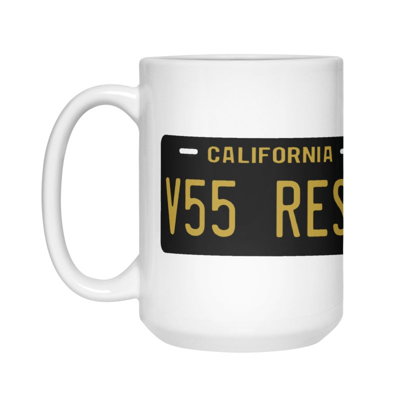 California license plate Accessories Mug by Vintage 55 Restorations