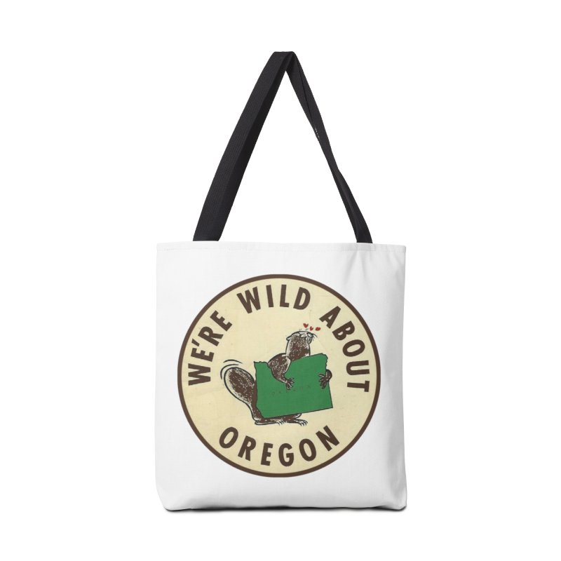 Wild About Oregon Beaver Accessories Bag by Vintage 55 Restorations