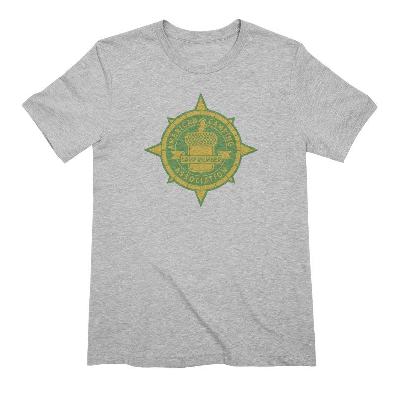 American Camping association badge Men's T-Shirt by Vintage 55 Restorations