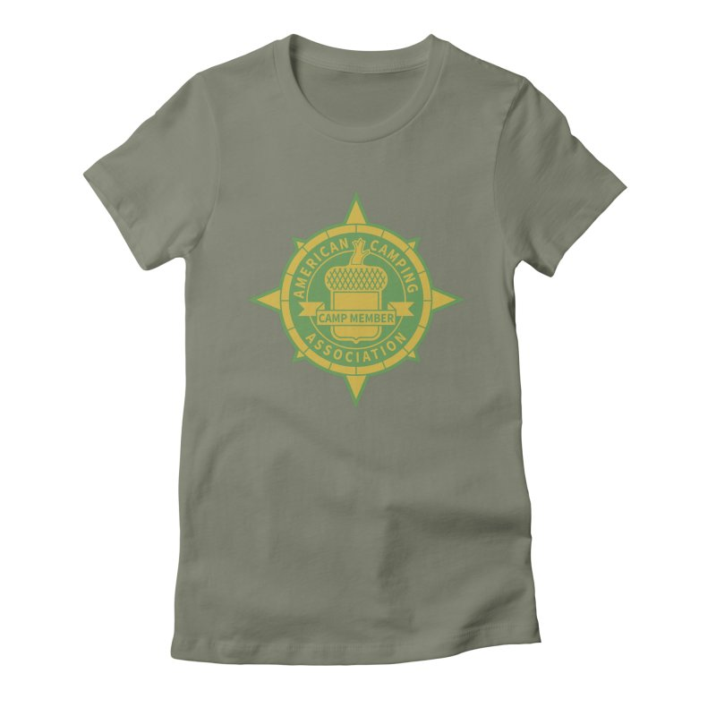 American Camping association badge Women's T-Shirt by Vintage 55 Restorations