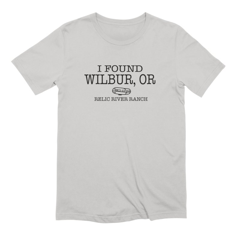 I Found Wilbur Oregon Men's T-Shirt by Vintage 55 Restorations