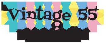 Vintage 55 Restorations Logo