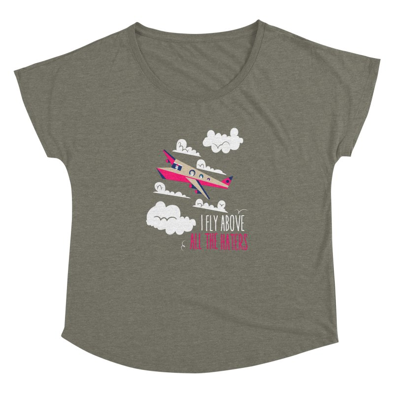 Fly Above The Haters   by Vintage Pop Tee's Artist Shop
