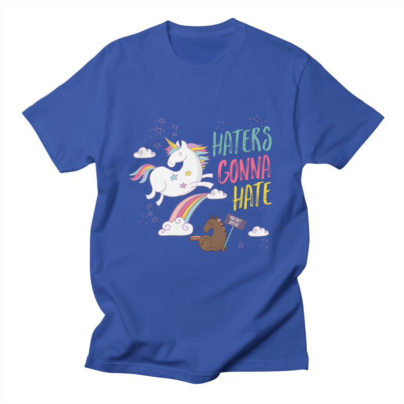 Haters Gonna Hate Men's T-shirt by Vintage Pop Tee's Artist Shop