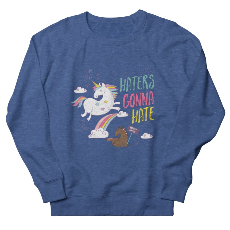 Haters Gonna Hate Women's Sweatshirt by Vintage Pop Tee's Artist Shop