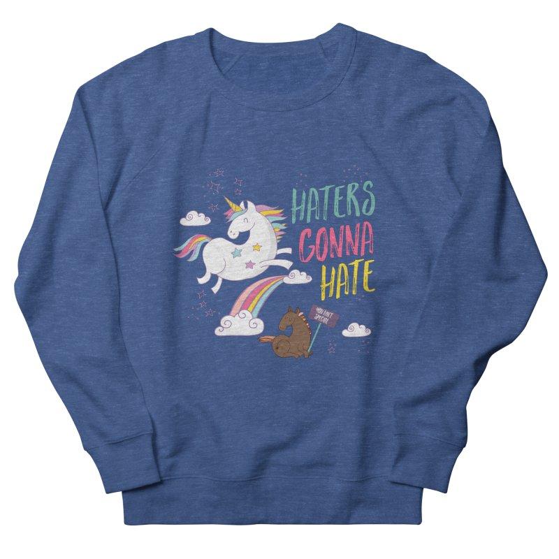 Haters Gonna Hate Men's Sweatshirt by Vintage Pop Tee's Artist Shop
