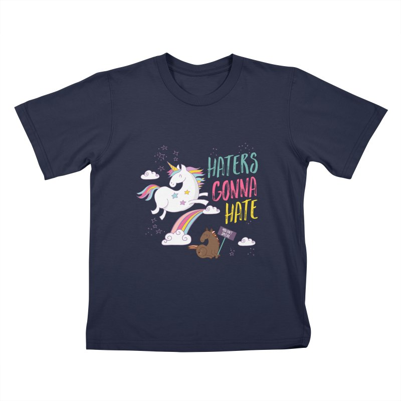 Haters Gonna Hate Kids  by Vintage Pop Tee's Artist Shop