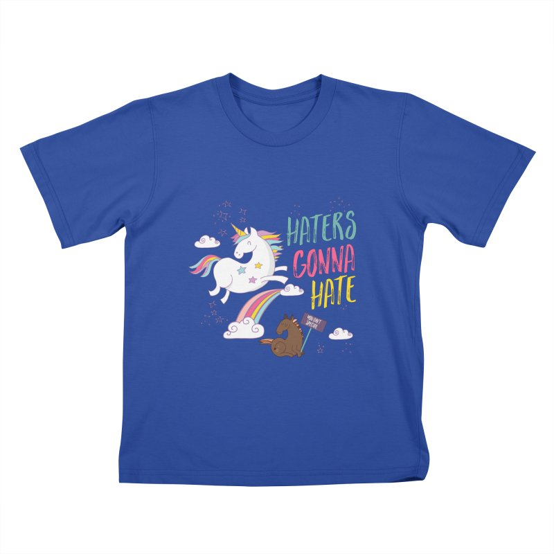Haters Gonna Hate   by Vintage Pop Tee's Artist Shop