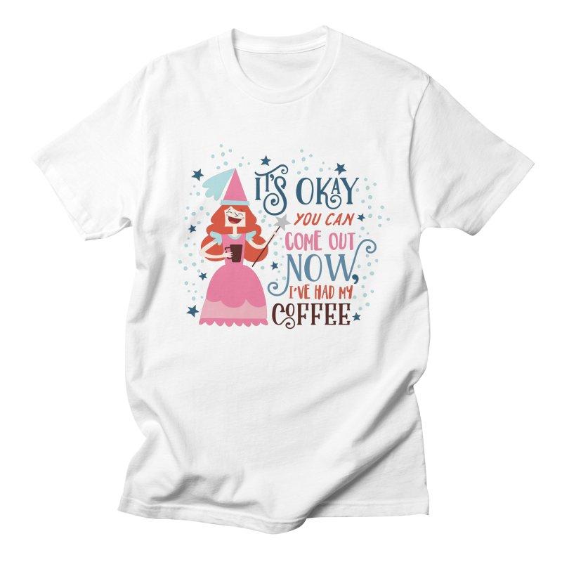 Coffee Princess Men's T-Shirt by Vintage Pop Tee's Artist Shop