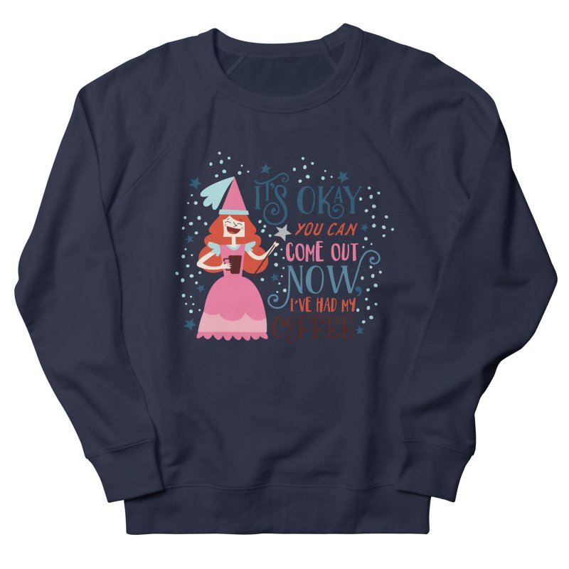 Coffee Princess Women's Sweatshirt by Vintage Pop Tee's Artist Shop