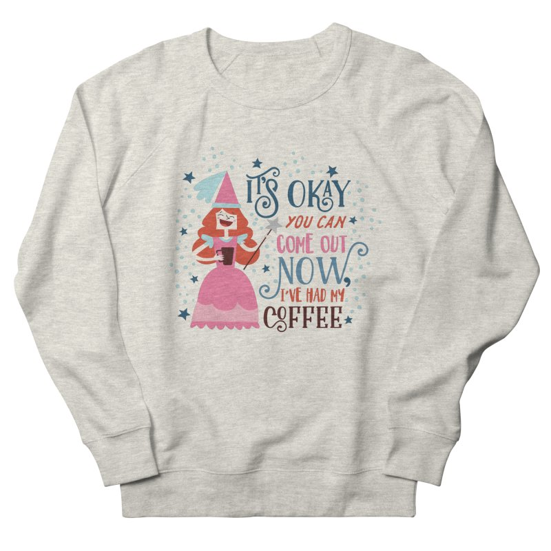 Coffee Princess Women's Sweatshirt by Vintage Pop Tee's Artist Shop