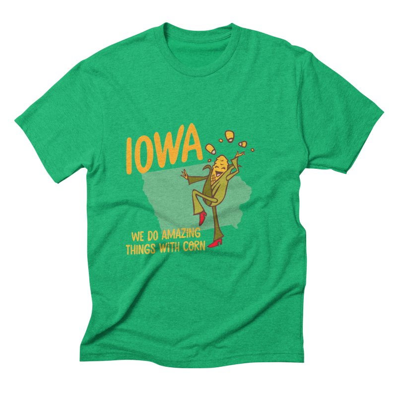 Iowa: We Do Amazing Things With Corn   by Vintage Pop Tee's Artist Shop