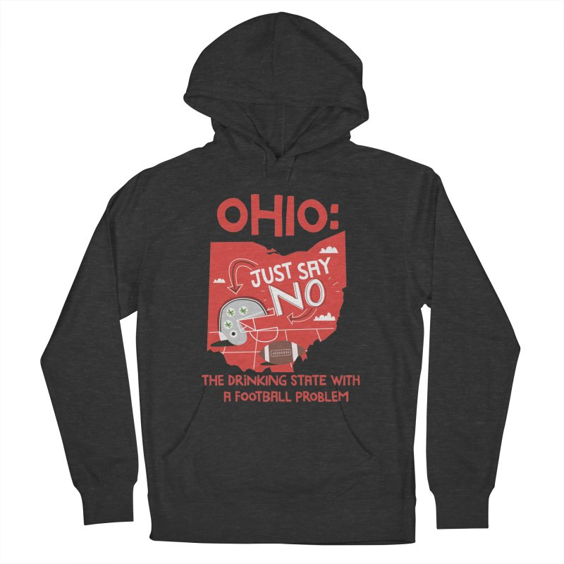 Ohio: The Drinking State With A Football Problem Women's French Terry Pullover Hoody by Vintage Pop Tee's Artist Shop