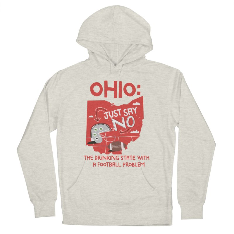 Ohio: The Drinking State With A Football Problem Women's Pullover Hoody by Vintage Pop Tee's Artist Shop