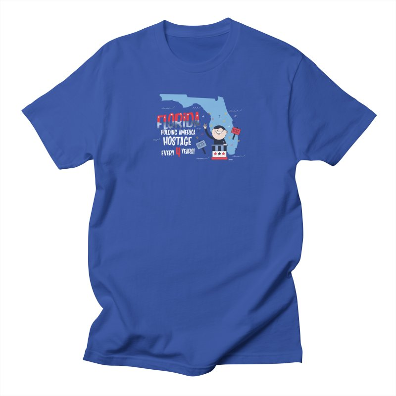 Florida: Holding America Hostage  Men's T-shirt by Vintage Pop Tee's Artist Shop
