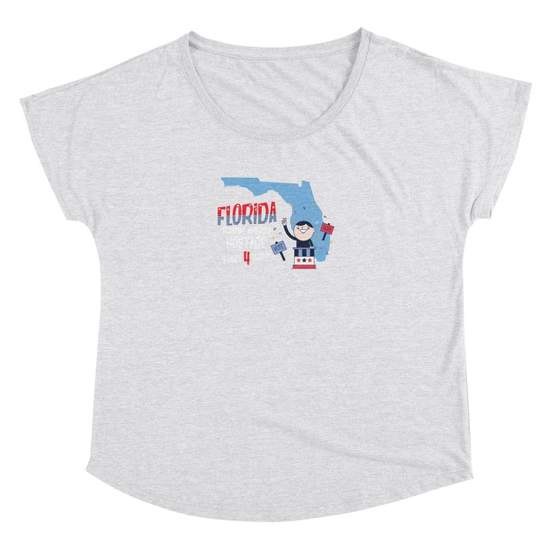 Florida: Holding America Hostage  Women's Dolman by Vintage Pop Tee's Artist Shop