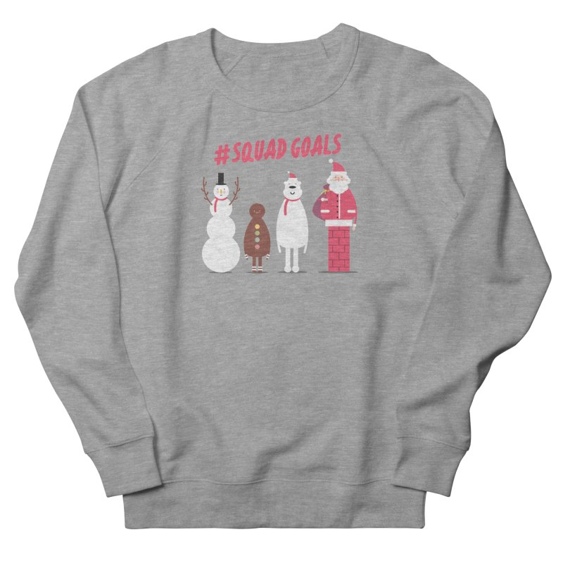 #SquadGoals Women's Sweatshirt by Vintage Pop Tee's Artist Shop