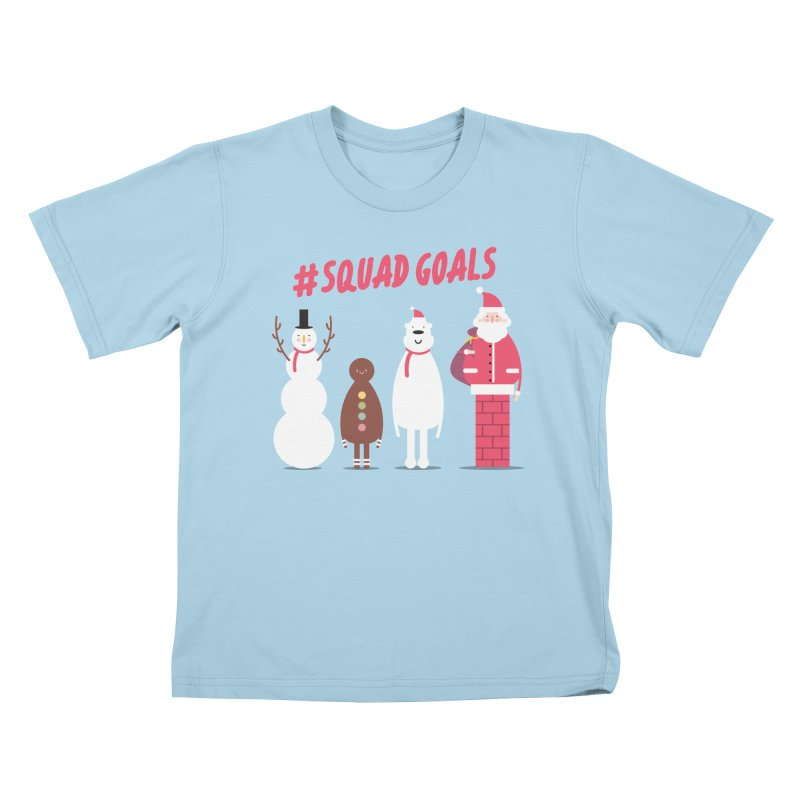 #SquadGoals Kids T-Shirt by Vintage Pop Tee's Artist Shop