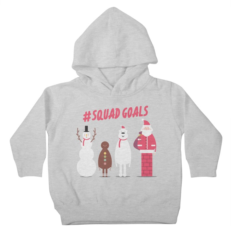 #SquadGoals Kids Toddler Pullover Hoody by Vintage Pop Tee's Artist Shop