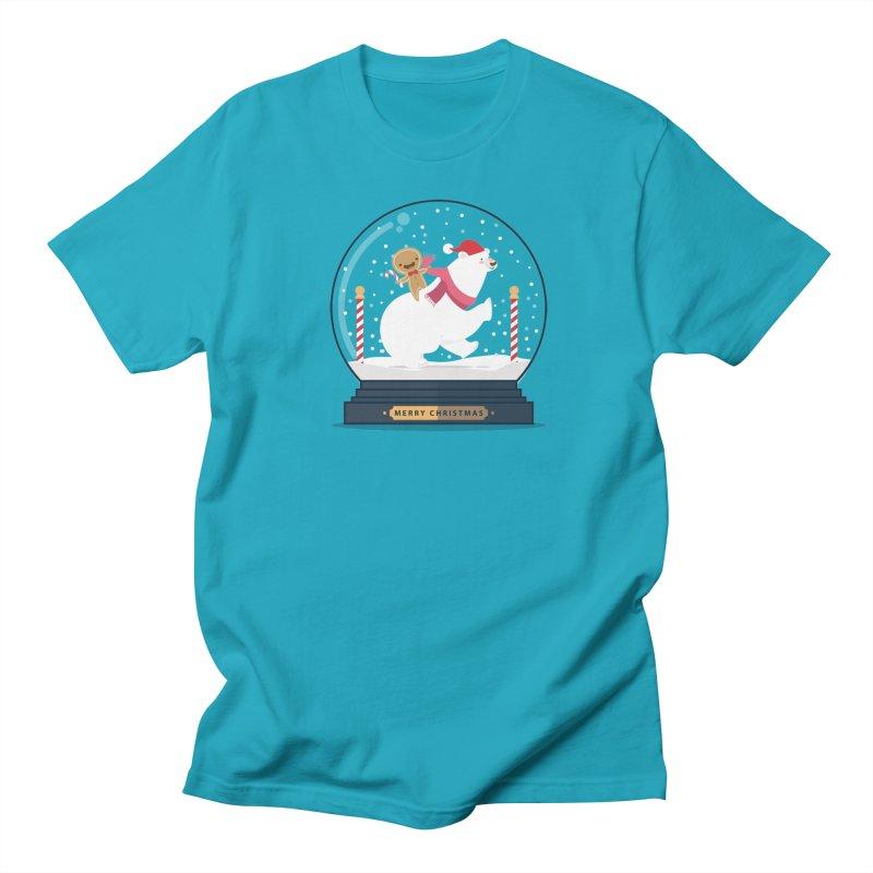 GINGER RIDER Men's T-Shirt by Vintage Pop Tee's Artist Shop