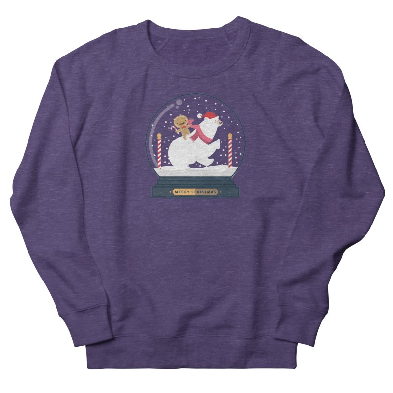 GINGER RIDER Women's Sweatshirt by Vintage Pop Tee's Artist Shop
